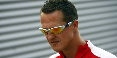 Michael Schumacher has been hospitalized since he was injured in a skiing accident in the French Alps on Dec. 29.