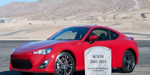 Get 'em while they last! Scion has been discontinued.