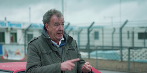 """Jeremy Clarkson talks about the Maserati Biturbo in an episode of """"The Grand Tour"""""""
