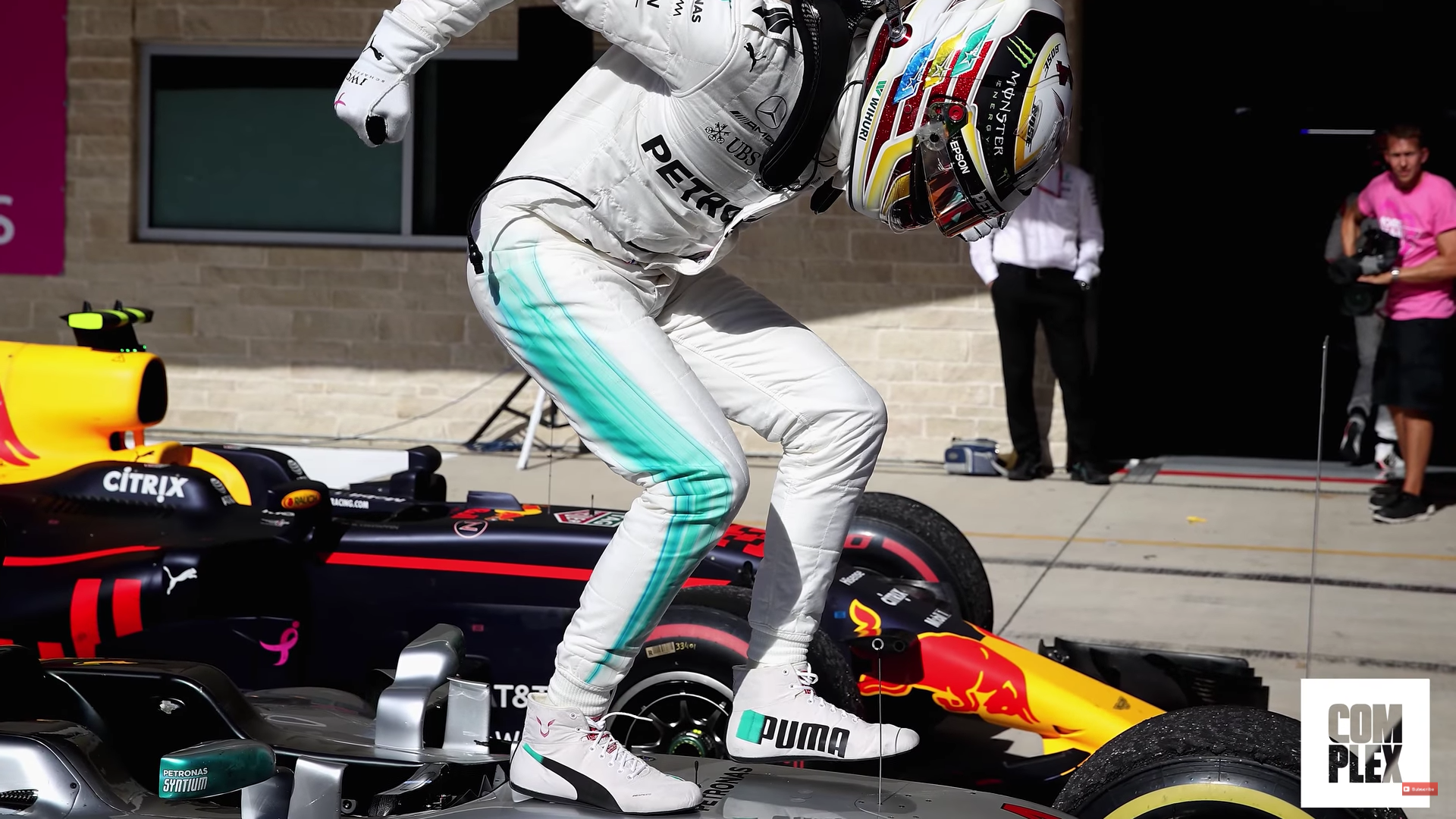 Watch Lewis Hamilton Go On A Sneaker Shopping Spree