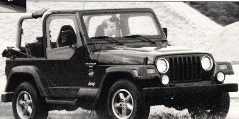 November 1996 We Drive The Jeep Wrangler Tj