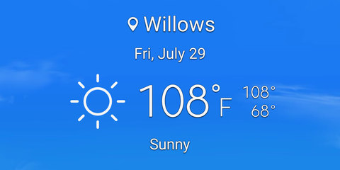 Believe it or not, it can get hotter than this at Thunderhill Raceway