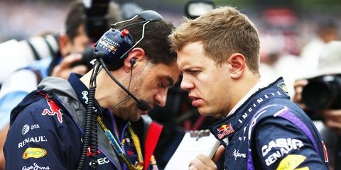 Four-time Formula One champion Sebastian Vettel is under contract to drive for Red Bull Racing through the 2015 season.