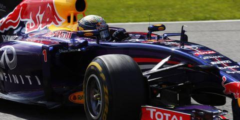 Sebastian Vettel is still seeking his first win of the 2014 Formula One season.