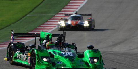 Scott Sharp and Ed Brown piloted a Honda Performance Development ARX-03b race car at Austin, Texas, this fall.