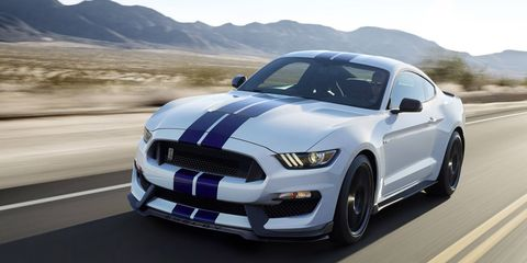The winning bidder will have the opportunity to pick out the colors and options for this 2015 Shelby GT 350.
