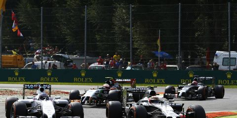The 2015 Formula One schedule is expected to include 20 races.
