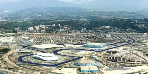 The circuit at Sochi is just about ready. However, some British politicians are putting pressure on the FIA to cancel the Russian Grand Prix