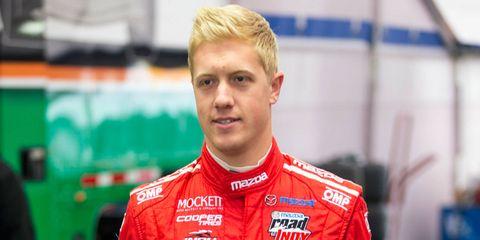 Spencer Pigot is kicking off his 2016 racing season at Daytona.
