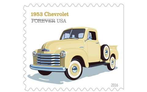 The 1953 Chevrolet featured large windshields and provided drivers with excellent visibility, a distinctive curvy grille that bulged in the middle and a six-cylinder engine.