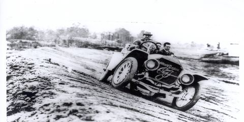 The 1911 Stoddard-Dayton was the very first car to pace the field at the Indianapolis 500.