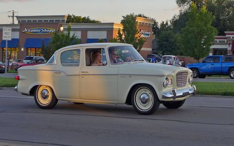 The Studebaker Lark VI. My, what a sensible car!