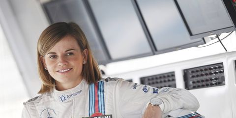 Susie Wolff has been a development driver at Williams F1 for the past three seasons.