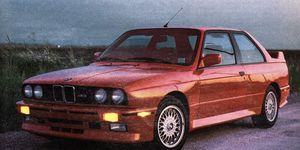 Back in the day we thought the E30, with its box fenders and big wing, was extreme. Times have changed.