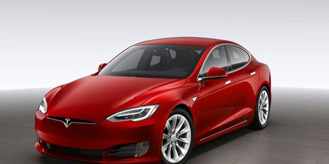 The massive grille opening from previous Model S sedans has been replaced with the a Model X-esque front fascia.