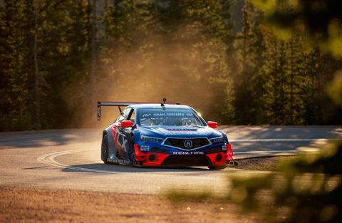 After a class win at Pikes Peak, Peter Cunningham will be taking on the hill in an Acura TLX GT. Think he can handle it?