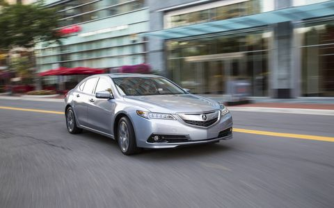 2015 Acura TLX goes on sale in August.
