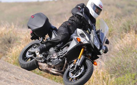The 2015 Yamaha FJ-09 is based on the 2014 FZ-09.