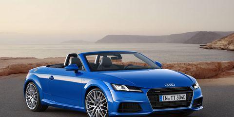 The 2016 Audi TT Roadster will make its debut in Paris.