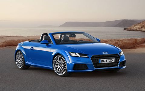 The 2016 Audi TT Roadster will make its debut in Paris.