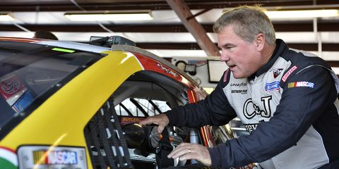 Terry Labonte is set for his 890th and final -- he promises -- NASCAR Sprint Cup Series start on Sunday at Talladega.