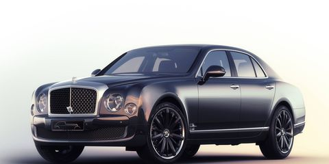 """Just four examples of the Mulsanne Speed """"Blue Train"""" by Mulliner will be built."""