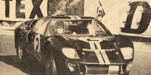Ford win falls on the 50th anniversary of the GT40's first world championship
