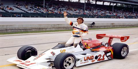 Tim Richmond won the Rookie of the Year award for the Indy 500 in 1980.