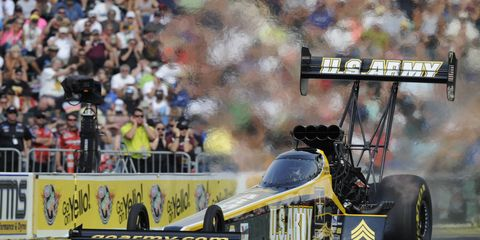 Top Fuel driver Tony Schumacher tries this weekend in Indianapolis to become the first driver in NHRA history to win 10 times at the U.S. Nationals.