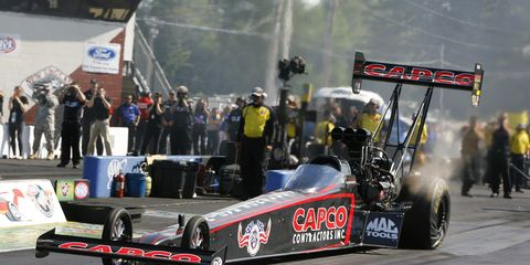 Steve Torrence grabbed an NHRA victory over the weekend in Colorado.
