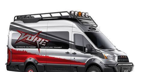 The VORE is one of five Ford Transit vans that will debut at the SEMA Show.
