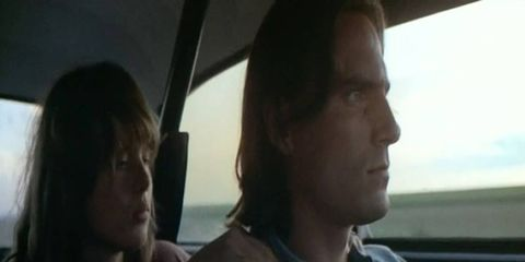 Laurie Bird and James Taylor driving to nowhere in a 12-second 1955 Chevy 210.