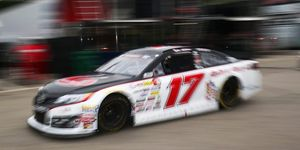 DGR-Crosley's No. 17 won the NASCAR K&N East championship with Tyler Ankrum last season.