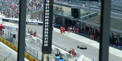 Mark Miles said that Formula 1 could return to the Indianapolis Motor Speedway one day.
