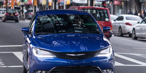 The all-new 2015 Chrysler 200S is the world's first mid-size sedan to feature a nine-speed automatic transmission.