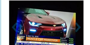 The 2016 Chevy Camaro debuts on May 16, but CNBC did a story on the new pony car a day early.