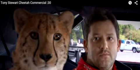 Tony Stewart, who recently announced his retirement from racing, has been in a number of TV commercials throughout his championship-winning NASCAR career.  Here are some of our favorites:
