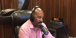 Steve Harvey addresses his role, or lack of, on his radio show Tuesday. regarding a $500 million lawsuit filed in New York on Sept. 16.