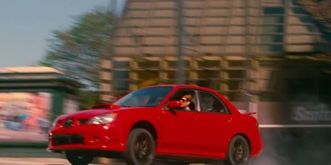 """One of the best chase scenes in """"Baby Driver"""" takes place in a Subaru WRX."""