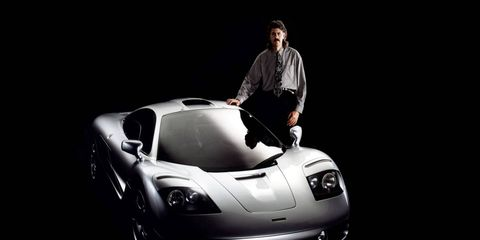 The exhibition also marks the 10th anniversary of the creation of Gordon Murray Design, set up after Murray had finished with the team that created the Mercedes-Benz SLR McLaren.
