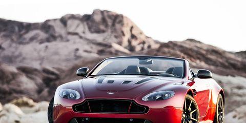 The Aston Martin V12 Vantage S Roadster will carry a 6.0-liter V12 engine.