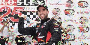 Rubén García Jr. won his second career K&N Pro East race of the season Saturday.