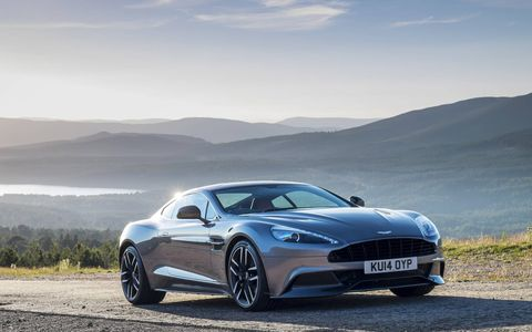 The 2015 Vanquish is capable of hitting 60 in just 3.6 seconds versus 4.1 for the old model.