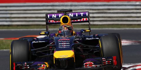 Four-time Formula One champion Sebastian Vettel has a way of weaving food into his racing critiques.