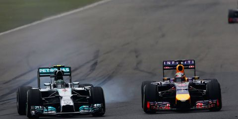 Nico Rosberg, left, has taken over the No. 1 spot in the standings and left four-time defending Formula One champion Sebastian Vettel in his wake in 2014.