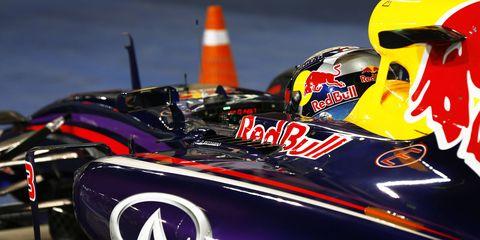 Sebastian Vettel closed out his Red Bull Racing career on Sunday in Abu Dhabi.