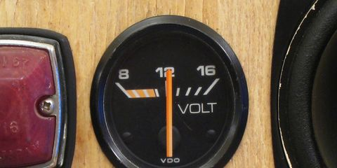 European cars used these voltmeters for many years, and they were popular aftermarket purchases as well.