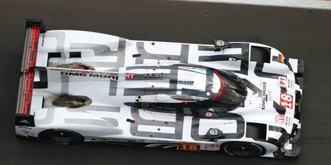 Romain Dumas, Neel Jani and Marc Lieb start Sunday's six-hour endurance race on the pole for Porsche.