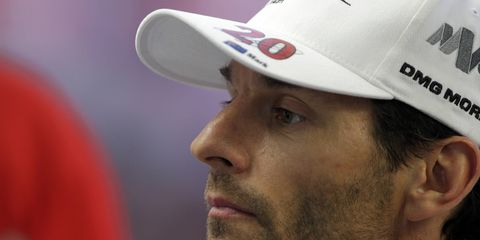 Mark Webber has been released from the hospital following a terrible crash in Brazil.