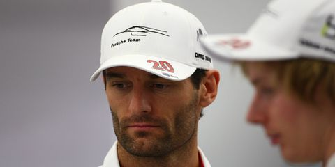Mark Webber drove in Formula One from 2001 until leaving Red Bull Racing at the end of the 2013 season to pursue a career in sports cars with Porsche.